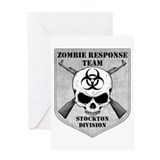 Zombie Response Team: Stockton Division Greeting C
