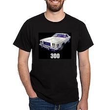 1979 Chrysler 300 t-shirt black T-Shirt