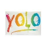 Cute Yolo Rectangle Magnet