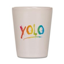 Cute Yolo Shot Glass