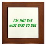 not fat Framed Tile