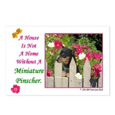 Funny Minpin Postcards (Package of 8)