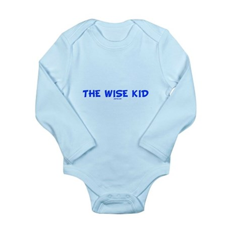 The Wise Kid Long Sleeve Infant Bodysuit