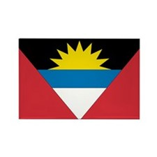 Antigua & Barbuda Rectangle Magnet