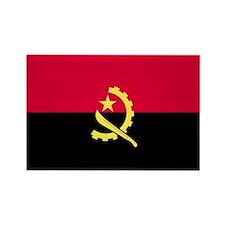 Angola Rectangle Magnet