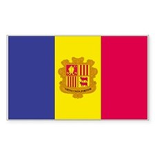Andorra Rectangle Decal