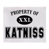 Property of Katniss Throw Blanket