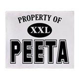 Property of Peeta Throw Blanket