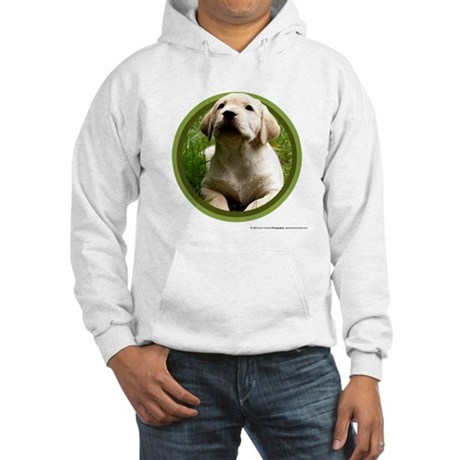 Yellow Lab Puppy Hooded Sweatshirt
