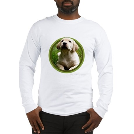 Yellow Lab Puppy Long Sleeve T-Shirt
