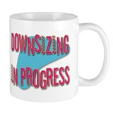 Downsizing Coffee Mug