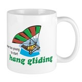 Never Too Young to Start Hang Gliding Mug
