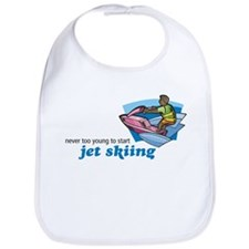 Never Too Young to Start Jet Skiing Bib