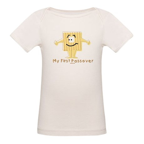 My First Passover Organic Baby T-Shirt