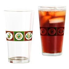 Holly JOY Drinking Glass