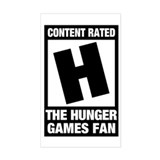 Hunger Games Fan Decal
