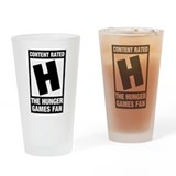 Hunger Games Fan Drinking Glass