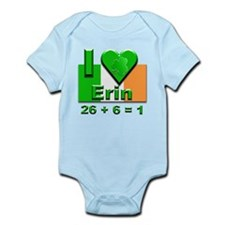 I Love Ireland 26+6=1 #2 Infant Bodysuit