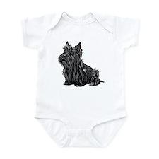 Scottish Terrier Infant Creeper