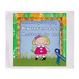 Leukodystrophy Throw Blanket