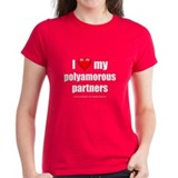 """Love Polyamorous Partners"" Tee"
