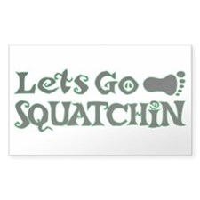 Let's Go Squatchin Decal