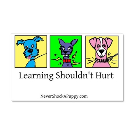 Learning Shouldn't Hurt Car Magnet