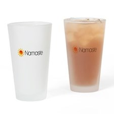Namaste Sun 2 Drinking Glass