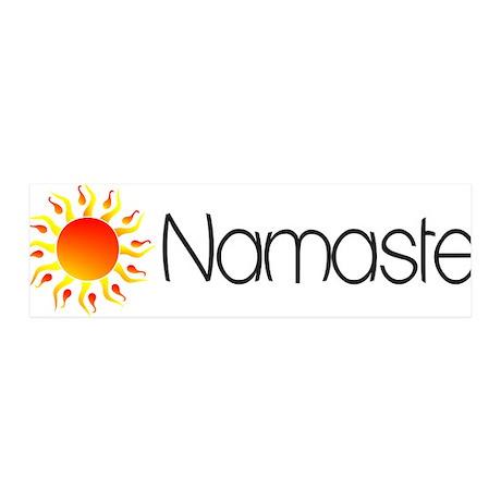 Namaste Sun 2 42x14 Wall Peel