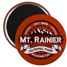 Mt. Rainier Crimson Magnet