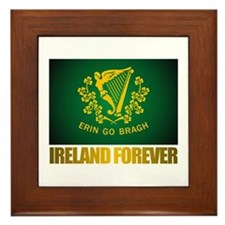 """Ireland Forever"" Framed Tile"