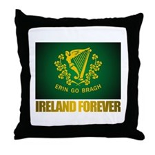 """Ireland Forever"" Throw Pillow"