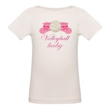Volleyball Baby Gift Tee