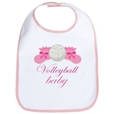 Volleyball Baby Gift Bib