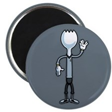 "Mr. Spork 2.25"" Magnet (100 pack)"