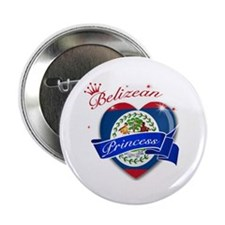 "Belizean Princess 2.25"" Button (10 pack)"