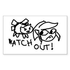 WATCH OUT! Decal