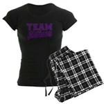 Team Hillary Purple Women's Dark Pajamas