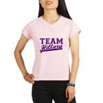 Team Hillary Purple Performance Dry T-Shirt