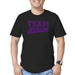 Team Hillary Purple Men's Fitted T-Shirt (dark)