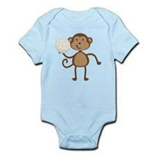 Volleyball Monkey Infant Bodysuit