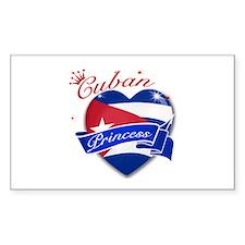 Cuban Princess Decal