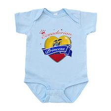 Ecuadorian Princess Infant Bodysuit