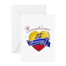 Ecuadorian Princess Greeting Card