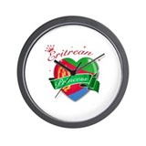 Eritrean Princess Wall Clock