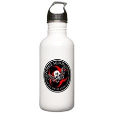 Zombie Squad 3 Ring Patch Rev Water Bottle