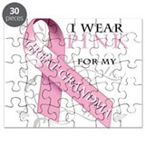 I Wear Pink for my Great Gran Puzzle