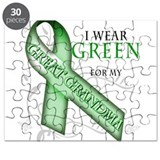 I Wear Green for my Great Gra Puzzle