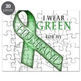 I Wear Green for my Husband Puzzle