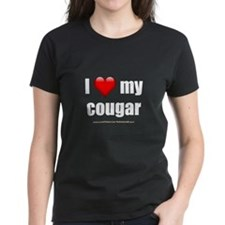 """I Love My Cougar"" Tee"